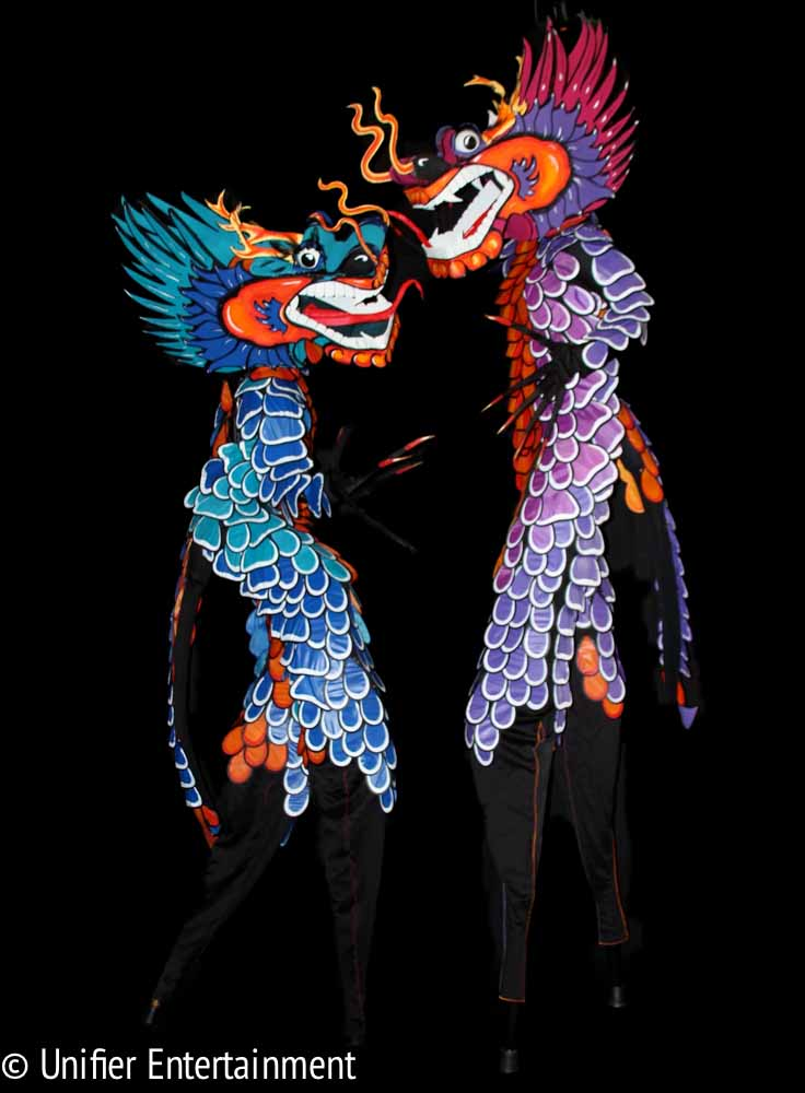 Chinese Dragons Performers