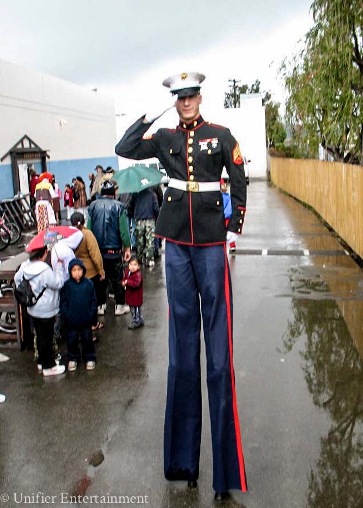 Marine Stilt Walker