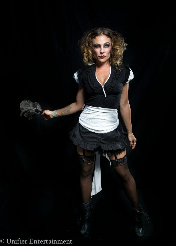 Sexy Maid Actress